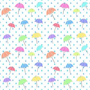 Raindrops & Umbrellas V2 - LG