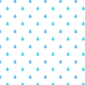 Raindrops Waterdrops