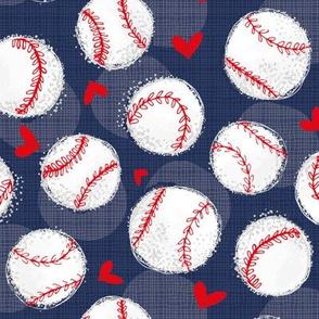 NAVY Baseball Lovers Unite! Medium Scale
