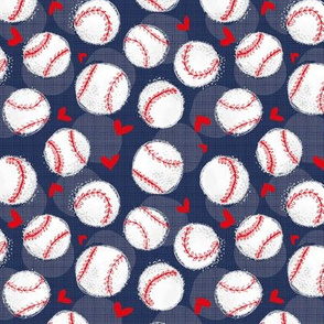 NAVY Baseball Lovers Unite! Small Scale