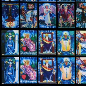Tarot Cards Small Blocks