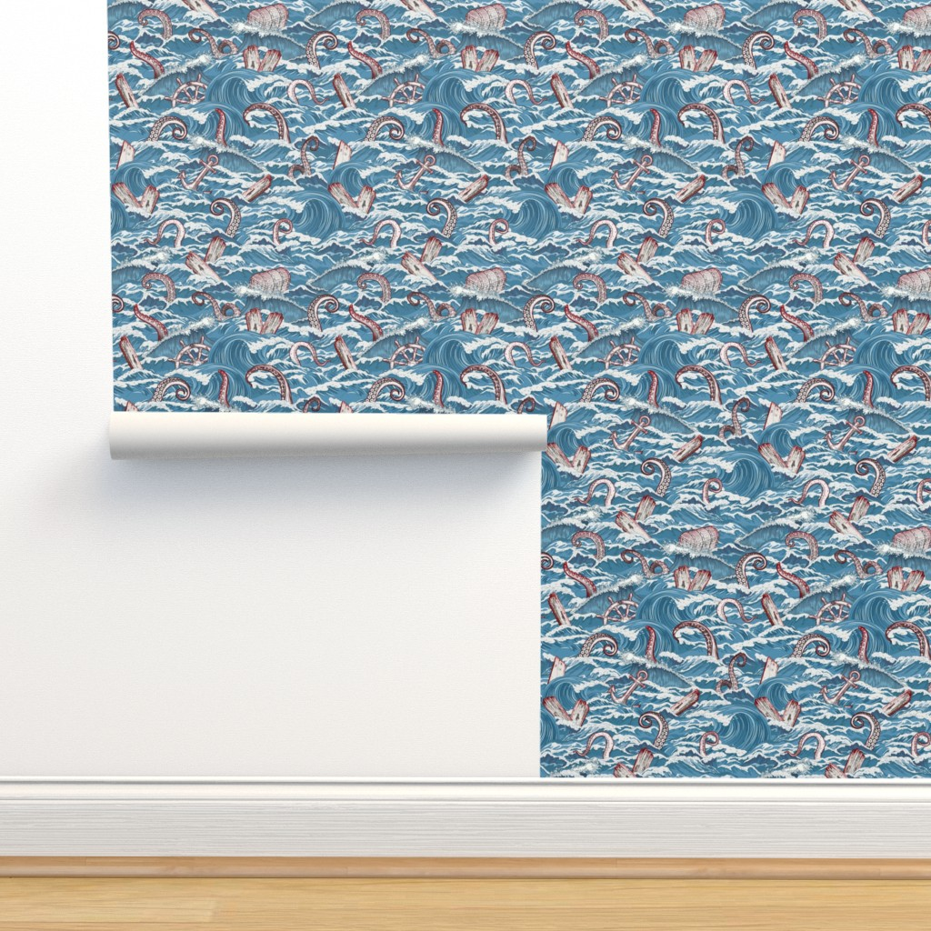 Isobar Durable Wallpaper featuring Shipwreck by xoxotique