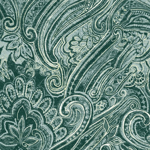 paisley_teal_duck