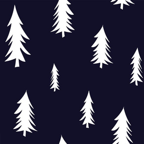 navy trees