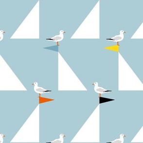 Seagulls and Sails