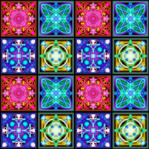 Tiles - Astrology - Modalities - Mutable