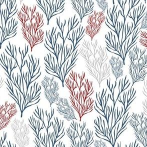 Red & Blue Seaweeds