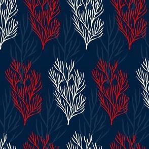 Seaweeds in Blue