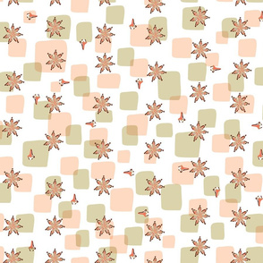 Anise and cloves pattern