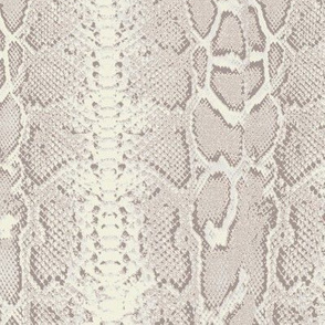snakeskin light beige creme