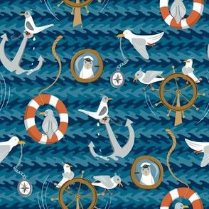Naughtigulls - sea birds gone rogue