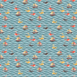 whales and sails