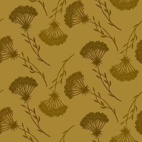 Golden Queen Anne's Lace