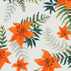 Tropical Tiger Lilies
