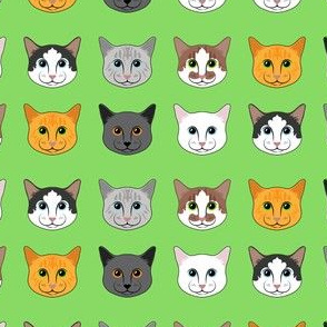 All the Cats- Green