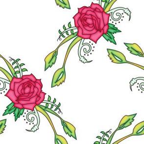 Red Rose Lattice