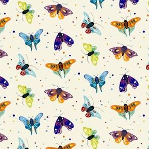 Folk moths - light
