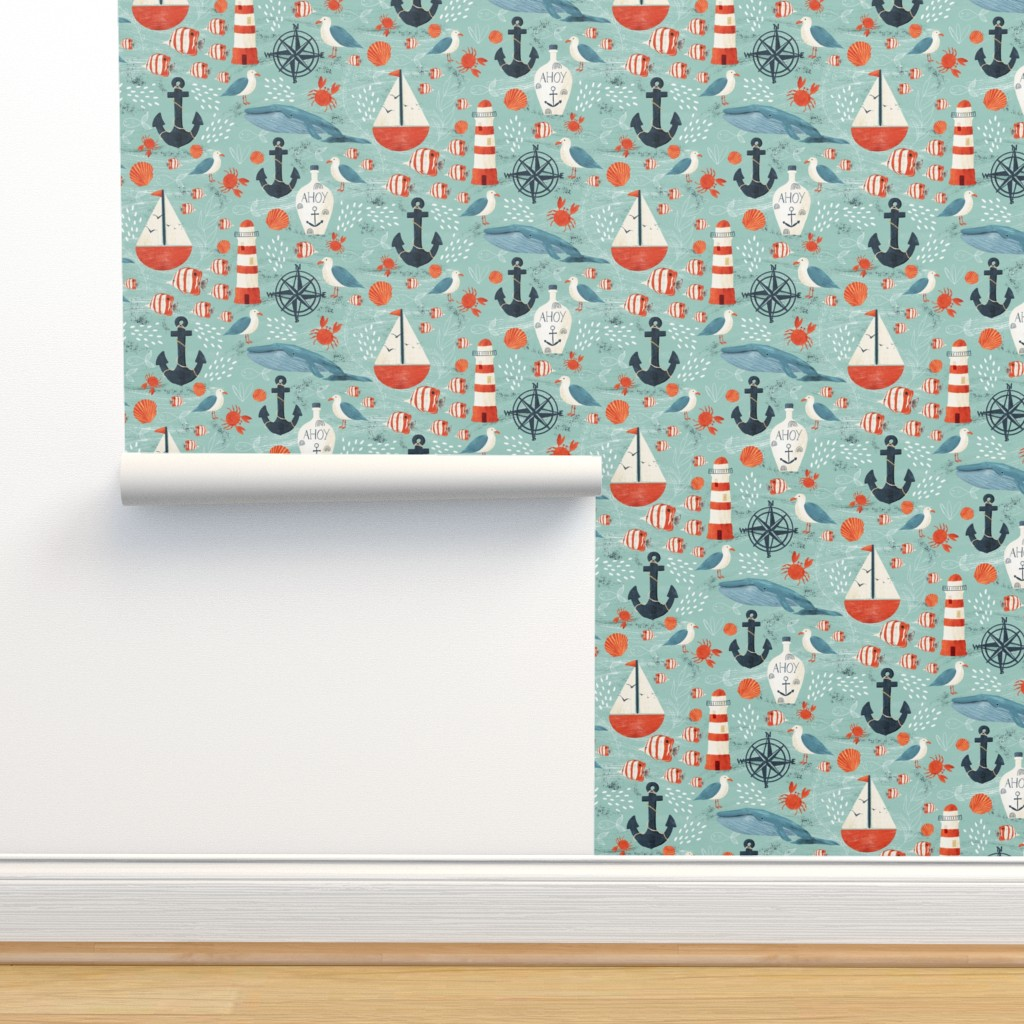 Isobar Durable Wallpaper featuring Ahoy by melarmstrong