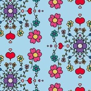 Hand Drawn Spring Florals