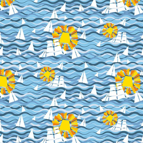 Sealife and sunshine