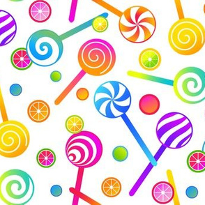 Lollipops and Candies, Smaller Scale