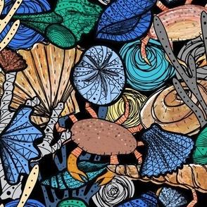 It's a Busy Ocean - by Kara Peters