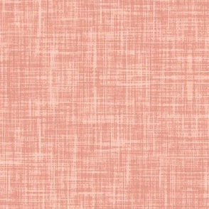 Pinkish apricot f9c1a7 Linen Look