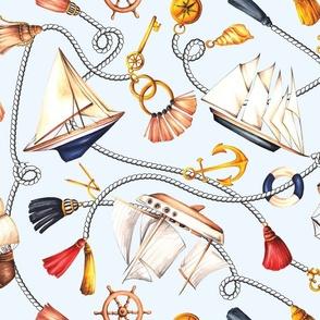 Set Sail! - Baby Blue