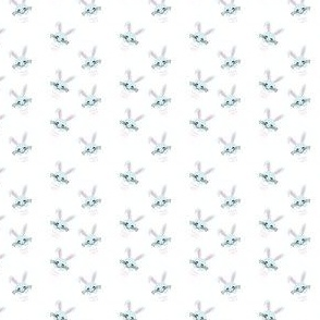 Easter bunny pattern small