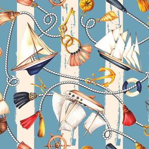 Set Sail! - Nautical Blue
