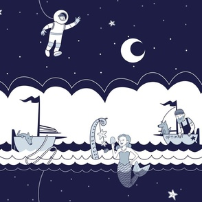 Deep Sea Astronaut