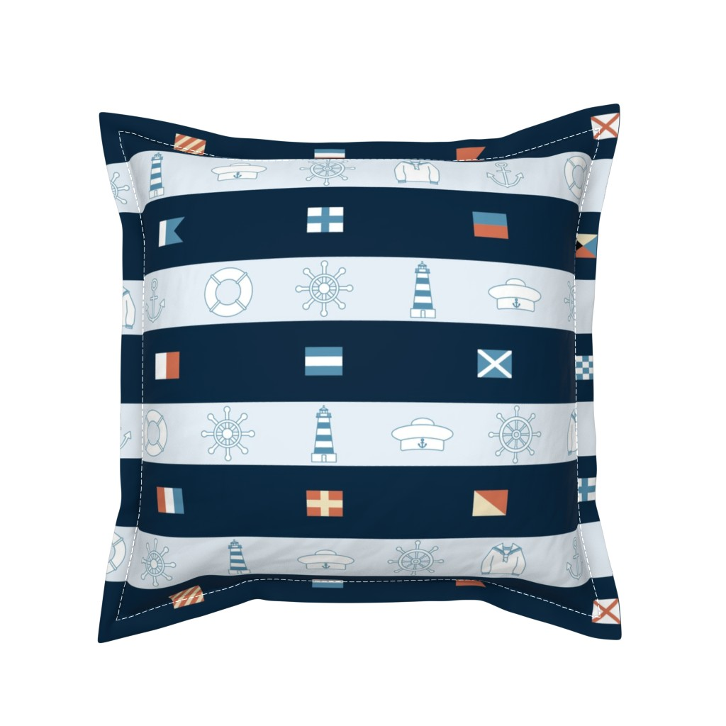Serama Throw Pillow featuring Maritime by twigged