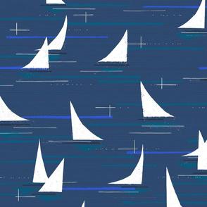 MCM Marina M+M Navy Blue by Friztin