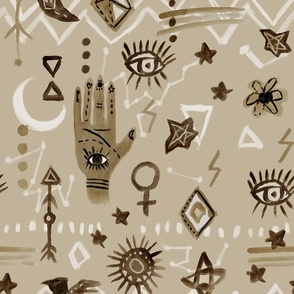 Mystic Eye Hand - Aysha - Large