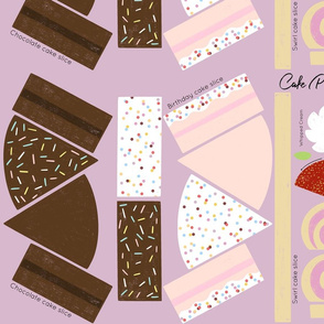 Cake Slice Cut & Sew Play Food