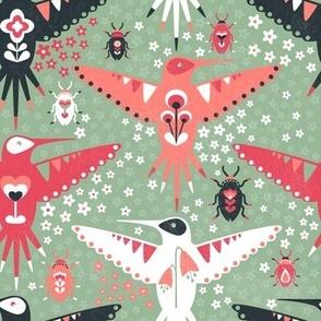 Hummingbirds and Beatles
