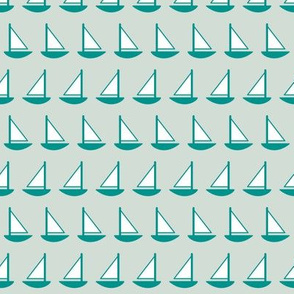 Little Sailboats Ice (Maritime)