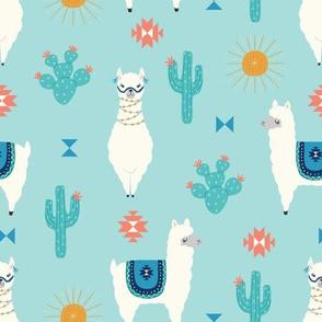 llamas and sunshine