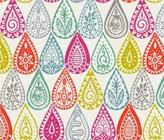 Indian raindrops