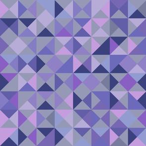 quart triangle lila