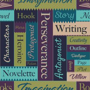 Writers Word Art