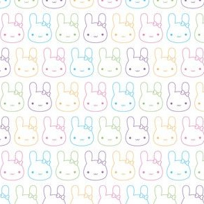 Kawaii Pastel Bunny Bows