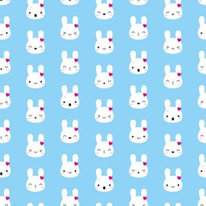 Kawaii Bunny Emotions (Blue)