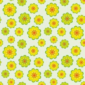 simple yellow flowers by rysunki_malunki