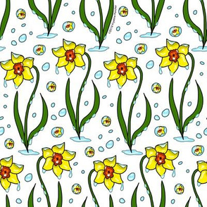 Daffodils and April Showers