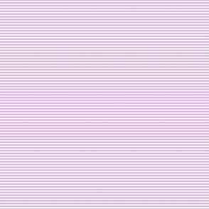 Blush Pink and White 1/8-inch Thin Pencil Horizontal Stripes