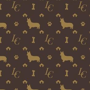 Louis Corgi Luxury Doggy Days Fashion