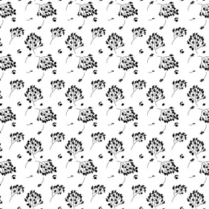 Grandmother's Pattern B&W