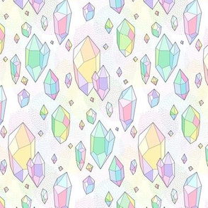 color crystals