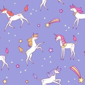 unicorns sky